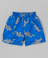 I Play Royal Shark Pocket Swim Diaper Trunks - Infant