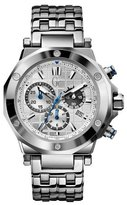 GUESS GUESS? Collection Sport Chic X72011G1S 43mm Silver Steel Bracelet & Case Anti-Reflective Sapphire Men's Watch