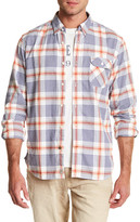 Timberland Twill Contemporary Plaid Regular Fit Shirt