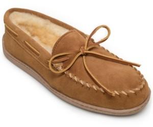 Minnetonka Men's Hard Sole Moc Slipper Men's Shoes