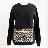 Buddy Pockets - Leopard Pocket Sweatshirt - L/XL