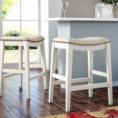 Admirable Rosecliff Heights Clewiston 24 75 Bar Stool Rosecliff Heights Bralicious Painted Fabric Chair Ideas Braliciousco