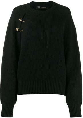 Versace Safety Pin Jumper