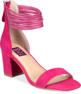 Mojo Moxy Cookie Block-Heel Sandals