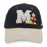 Disney Mickey Mouse Letterman Baseball Cap for Adults - Walt World
