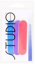 Superdrug Studio 3 Pack Mini Nail File