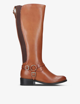 Carvela Petra leather knee-high boots