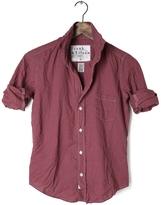 Frank And Eileen Womens Barry Italian Flannel Mini Check Shirt