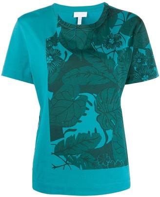 Escada Sport leaf print T-shirt