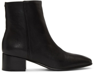 Rag & Bone Black Aslen Mid Boots