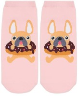 Forever 21 FOREVER 21+ Graphic Ankle Socks - 5 Pair