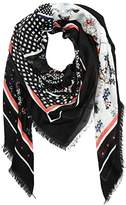 Tom Tailor Women's Patchwork Scarf