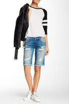 Genetic Los Angeles Jean High Rise Bermuda Short