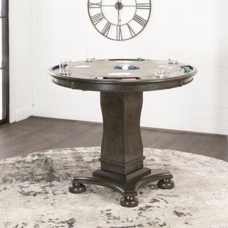 Sunset Trading Vegas Counter Height Pedestal Dining Table