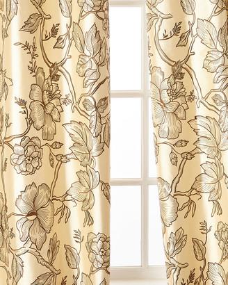 "Home Silks Petra Curtain Panel, 96""L"