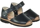Minorquines Leather Velcro Sandal
