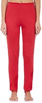Eberjey WOMEN'S CASSANDRA JERSEY CROP PAJAMA PANTS-RED SIZE S