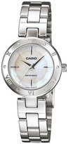 Casio Women's Core LTP1342D-7C Silver Stainless-Steel Quartz Watch with Dial