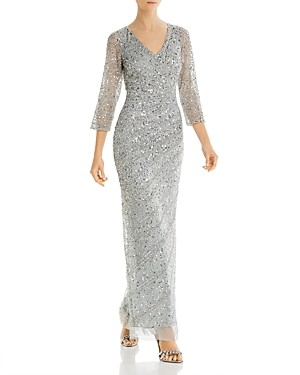 Adrianna Papell Beaded Gown - 100% Exclusive