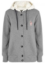 Moncler Grey Melangé Jersey Sweatshirt
