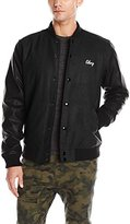 Obey Men's Soto Collegiate Jacket