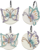 Creative Bath Creative BathTM Garden Gate Butterfly Shower Curtain Hooks