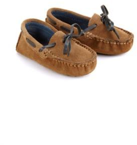 Cole Haan Infant's Suede Moccasin Drivers
