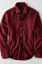 American Eagle Outfitters AE Solid Oxford Button Down Shirt