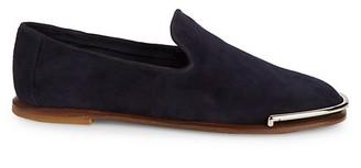 Alexander Wang Metallic Suede Loafers