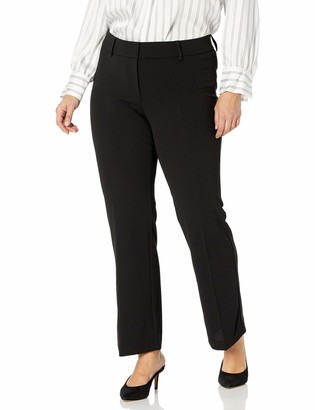 Rafaella Women's Plus Size Soft Stretch Crepe Modern Fit Pant
