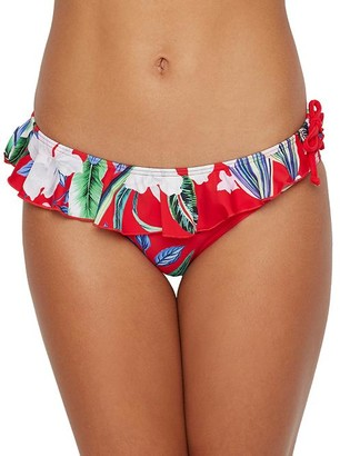 Pour Moi? Miami Brights Frill Bikini Bottom