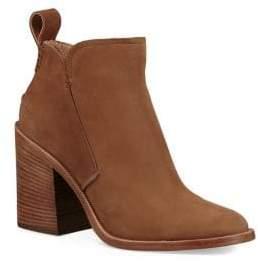 UGG Women's Pixley Block Heel Suede Boots