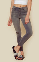 Mother the looker ankle fray skinny jean