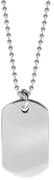 Rhona Sutton Boyz Will Be Boyz Children's Stainless Steel Dog Tag Necklace