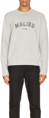 Saint Laurent Sweater in Grey & Black | FWRD