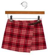 Burberry Girls' Wool Mini Skirt