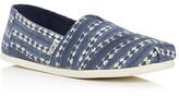 Toms Men's Seasonal Classic Batik Stripe Slip Ons