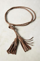 Anthropologie Braided Rope Belt