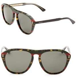 Gucci 49MM Pilot Sunglasses