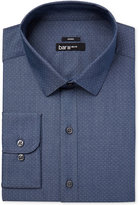 Bar III Men's Slim-Fit Stretch Easy Care Max Indigo Micro Dot Dress Shirt, Only at Macy's