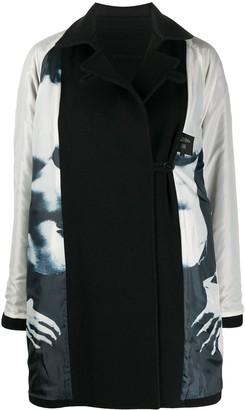 Jean Paul Gaultier Pre Owned 1990s Printed Lining Coat