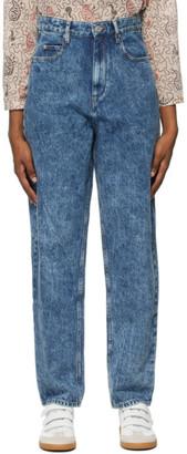 Etoile Isabel Marant Blue Washed Corsysr Jeans
