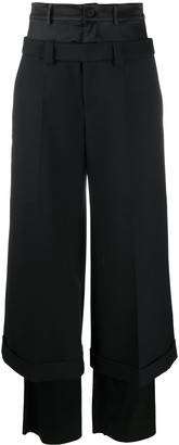 Ports 1961 Double-Layered Tailored Trousers