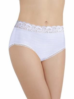 Vanity Fair Women's Flattering Lace Brief Panty 13281