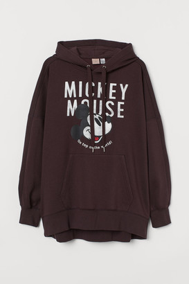 H&M H&M+ Oversized Hoodie - Red