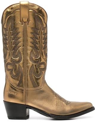 Paul Warmer Metallic-Tone Slip-On Boots