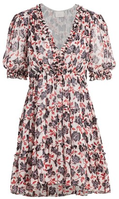 Cinq à Sept Tish Printed Mini Dress