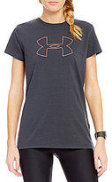 Under Armour Train Favorite Big Logo Short Sleeve Tee