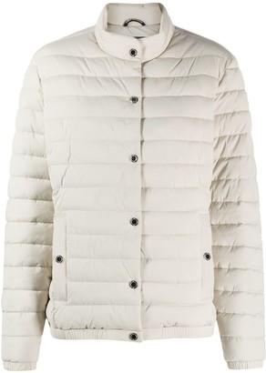 Moose Knuckles Long-Sleeved Puffer Jacket