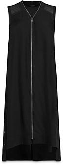AllSaints Lottie Zip Front Dress - 100% Exclusive